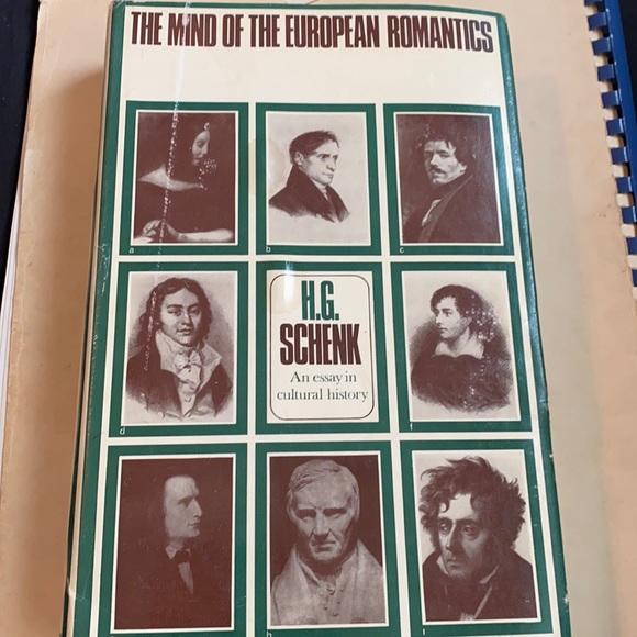 The Mind Of The European Romantics H.G Schenk Book